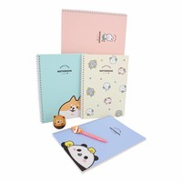Moongs notebook hardcover - yellow
