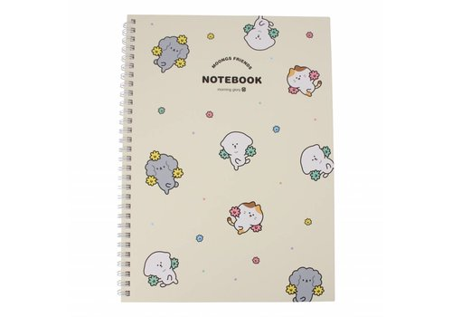 Moongs Moongs notebook hardcover