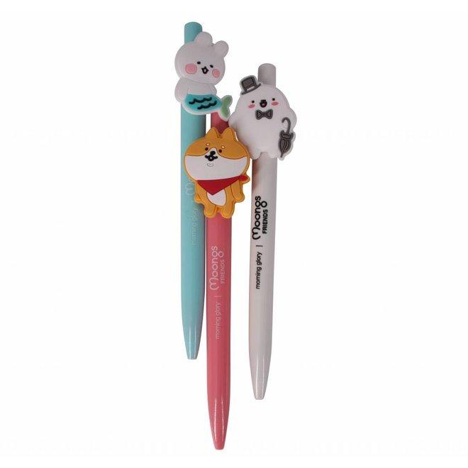 Moongs friends gel pen