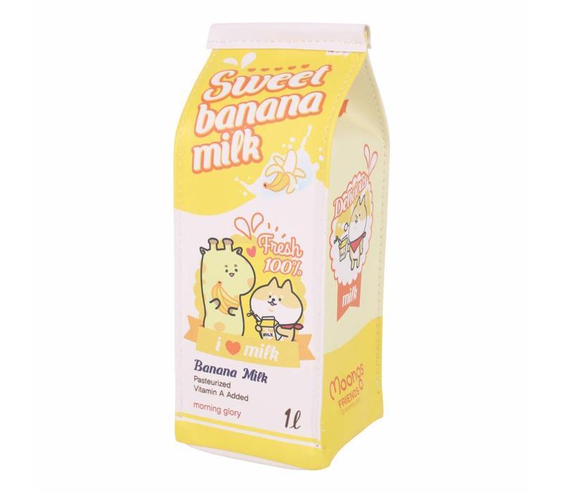 Melkpak etui - banaan