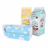Moongs milk carton pencil case - whole milk
