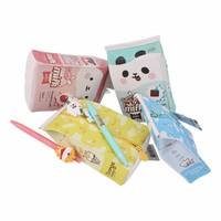 Moongs milk carton pencil case wide - whole milk