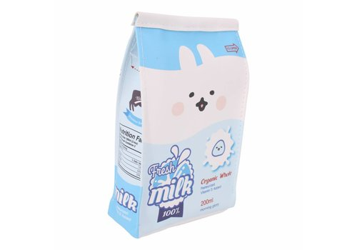 Moongs Moongs milk carton pencil case wide - whole milk