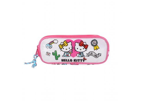 Hello Kitty Hello Kitty dubbele etui - Girl Gang