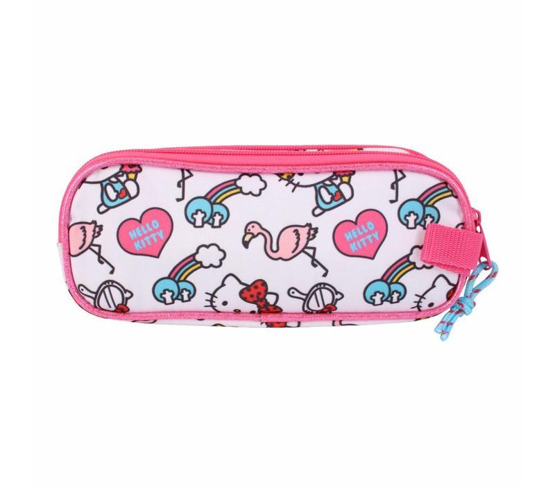 Hello Kitty double pencil case - Girl Gang