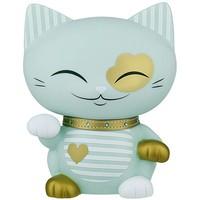 Mani the Lucky Cat (Maneki Neko) - Piggy bank with charm