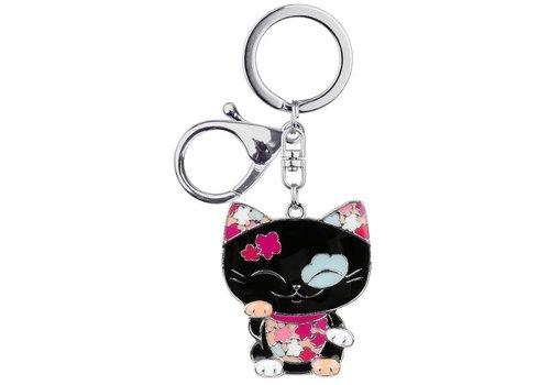 Mani the Lucky Cat  - Sleutelhanger