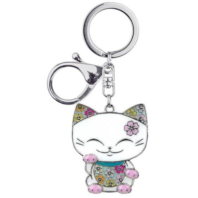 Mani the Lucky Cat (Maneki Neko) - Sleutelhanger