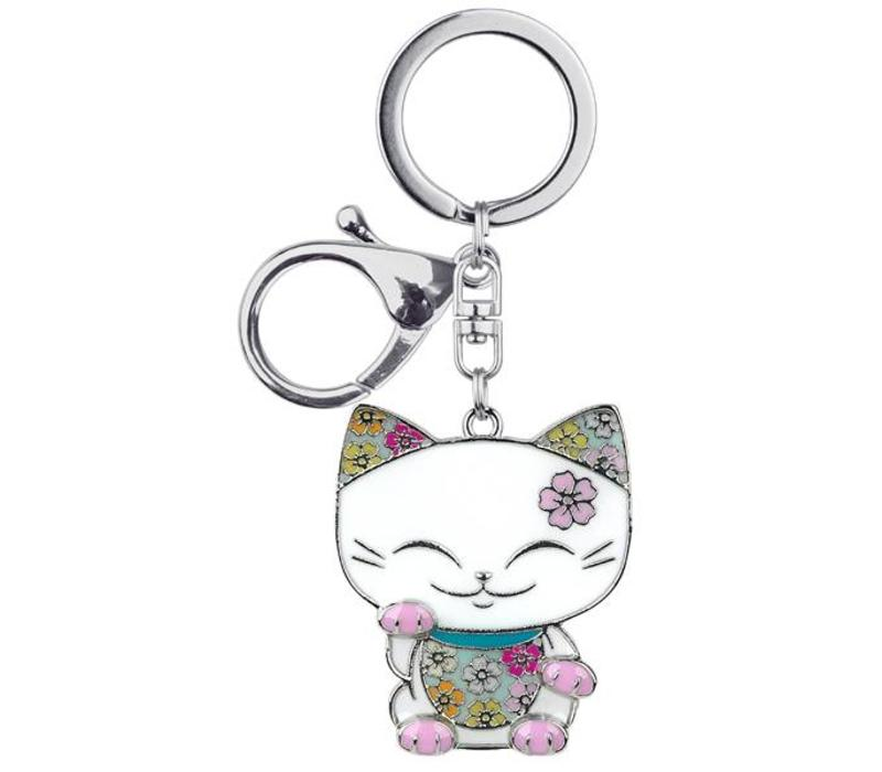 Mani the Lucky Cat (Maneki Neko) - Sleutelhanger