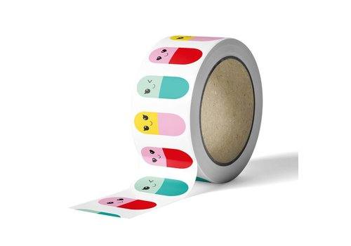 Studio Inktvis Washi tape Happy Pills