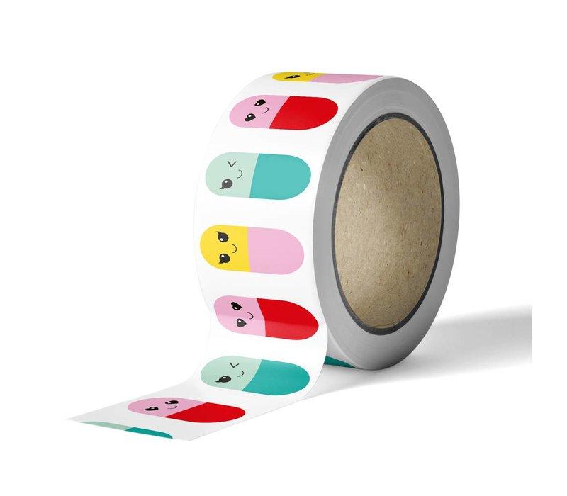 Washi tape Happy Pills