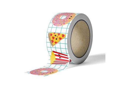 Studio Inktvis Washi tape Fast Food