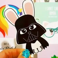 Sticker Star Wars Darth Bunny