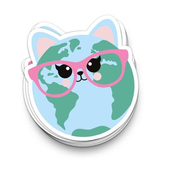 Sticker Cat World