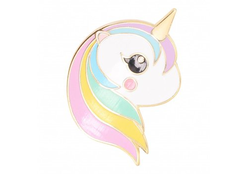 Studio Inktvis Pin Unicorn rainbow