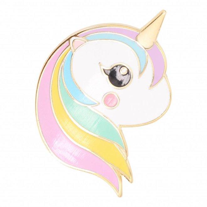 Pin Unicorn rainbow pastel
