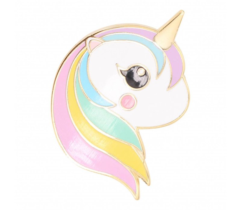 Pin Unicorn rainbow pastel