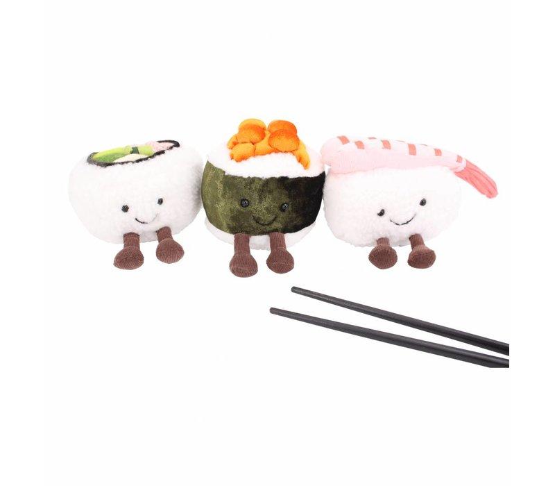 Jellycat Silly Sushi Nigiri Pluche - 11 cm