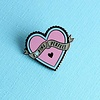 Punky Pins Punky Pins enamel Pin - F*cking Perfect