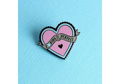 Punky Pins Pin - F*cking Perfect
