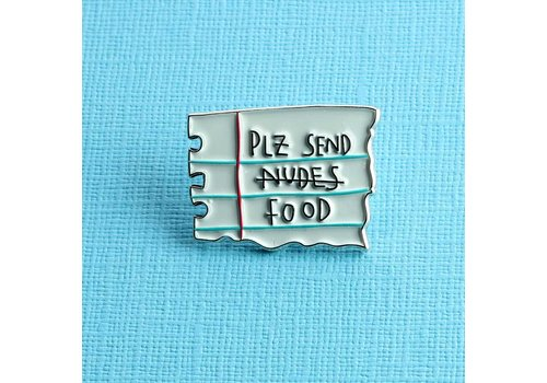 Punky Pins Pin - Plz send food