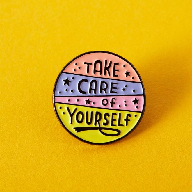 Punky Pins emaille Pin - Take care of yourself