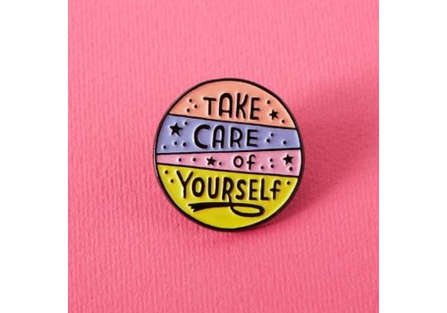 Punky Pins Pin - Take care of yourself