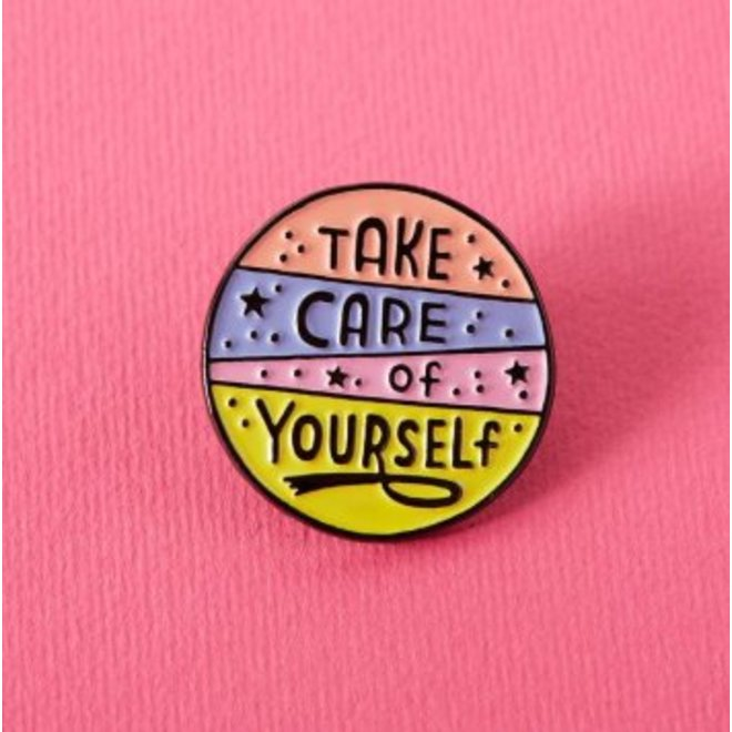 Punky Pins enamel Pin - Take care of yourself