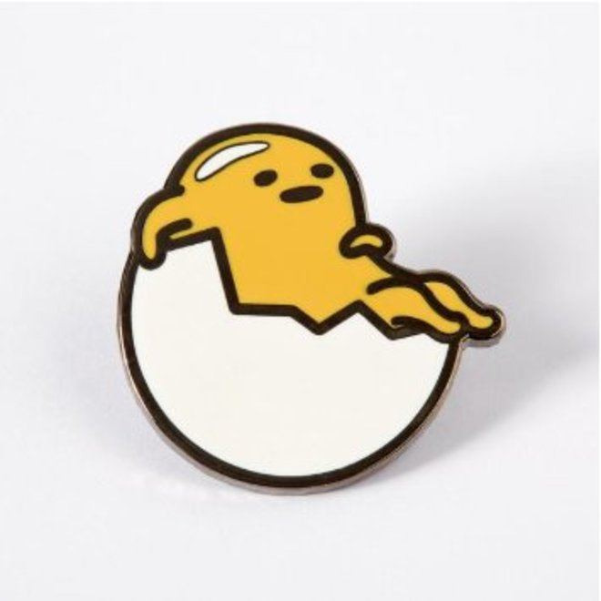Punky Pins enamel Pin - Gudetama Just Chilling