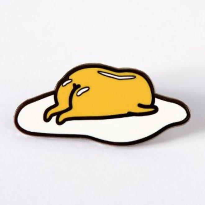 Punky Pins enamel Pin - Gudetama Sleepy