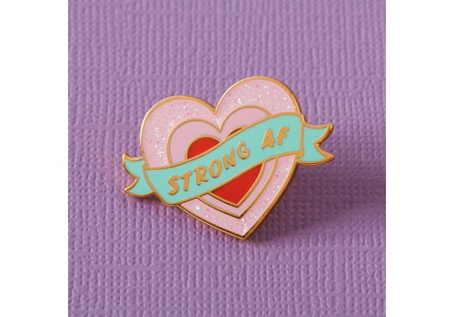 Punky Pins Pin - Strong AF