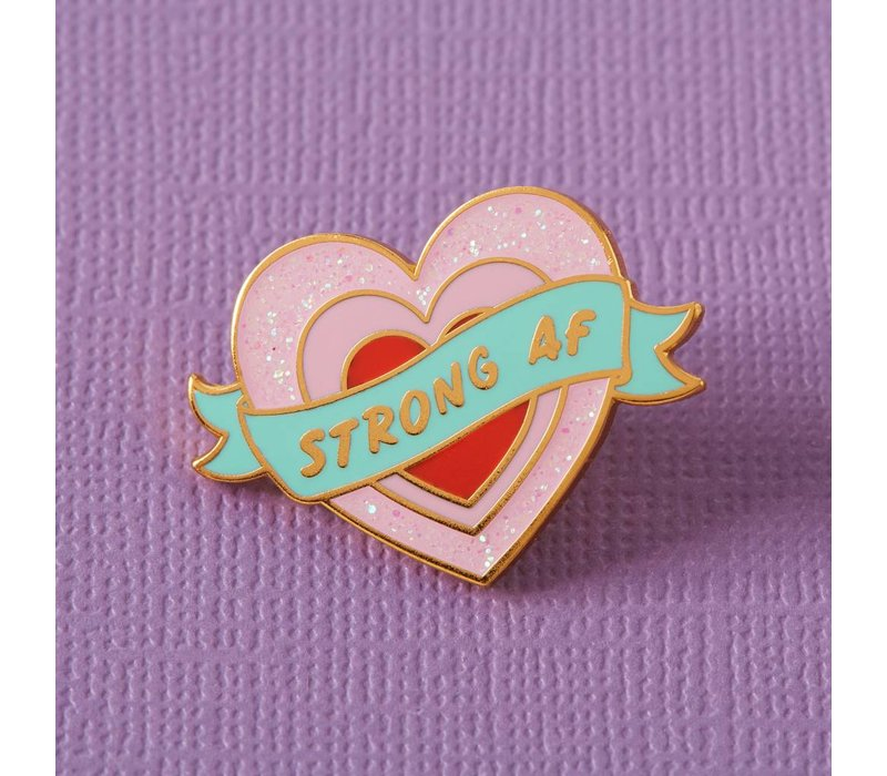 Punky Pins enamel Pin - Strong AF