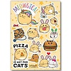 Fuzzballs Fuzzballs Sticker sheet A6 - Meowgical