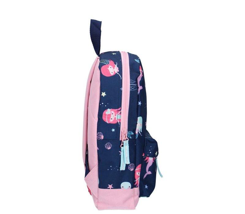Milky Kiss backpack - True Blue mermaid