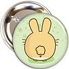 Fuzzballs Fuzzballs Badge - Bunny butt