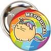 Fuzzballs Fuzzballs Badge - Meowgical