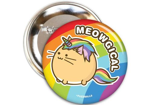 Fuzzballs Button - Meowgical