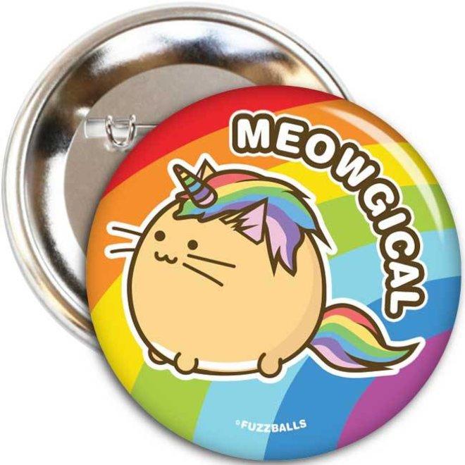 Fuzzballs Button - Meowgical