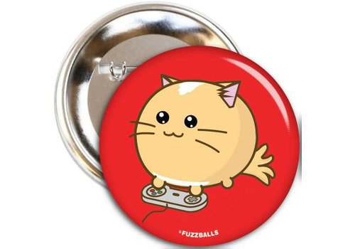 Fuzzballs Badge - Pawesome at games