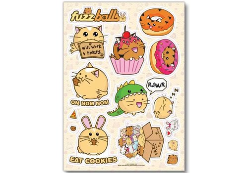 Fuzzballs Sticker sheet - Fuzzballs