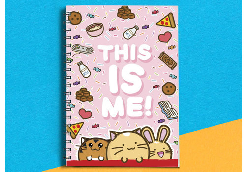 Fuzzballs Fuzzballs notebook - This is me