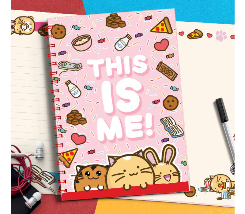 Fuzzballs notebook - This is me