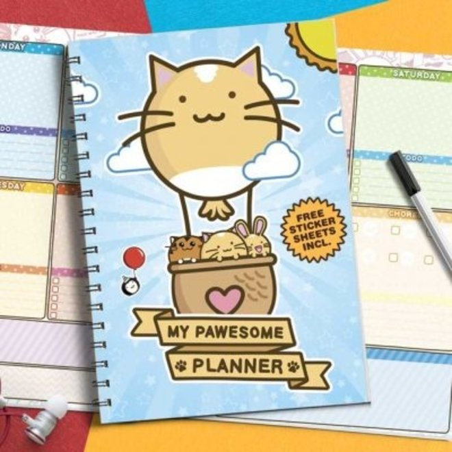 Fuzzballs planner - My pawesome planner