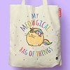 Fuzzballs Fuzzballs Totebag - My meowgical bag of things