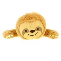Happy Zoo pluche etui luiaard