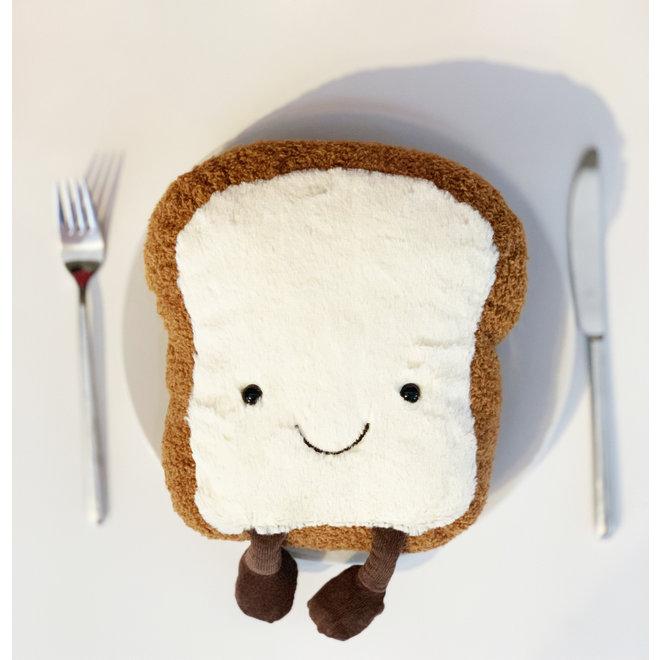 Jellycat Amuseable Toast Pluche - 26 cm