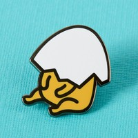 Punky Pins emaille Pin - Gudetama Nope