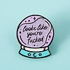 Punky Pins Punky Pins enamel Pin - You're fucked