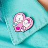 Punky Pins Punky Pins enamel Pin - Hello Kitty Kissing Dear Daniel