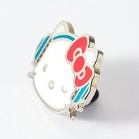 Punky Pins enamel Pin - Hello Kitty DJ